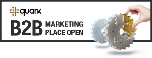 quark B2B Marketing Place open